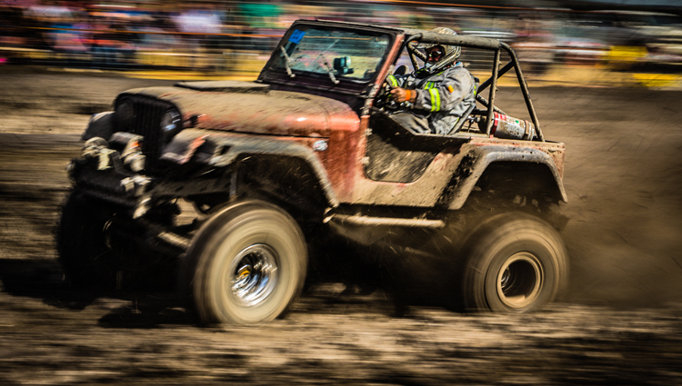 Jeep, mud racing, Rimbey, Alberta