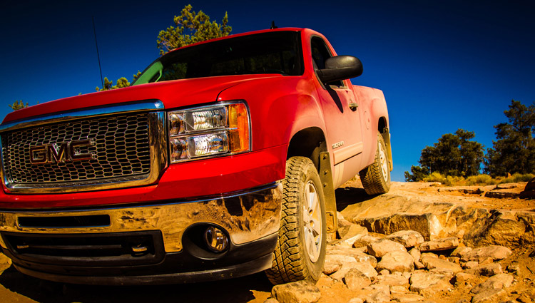 GMC Sierra Toroweep Grand Canyon Arizona