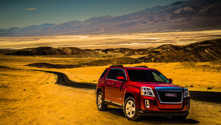 GMC Terrain Death Valley California