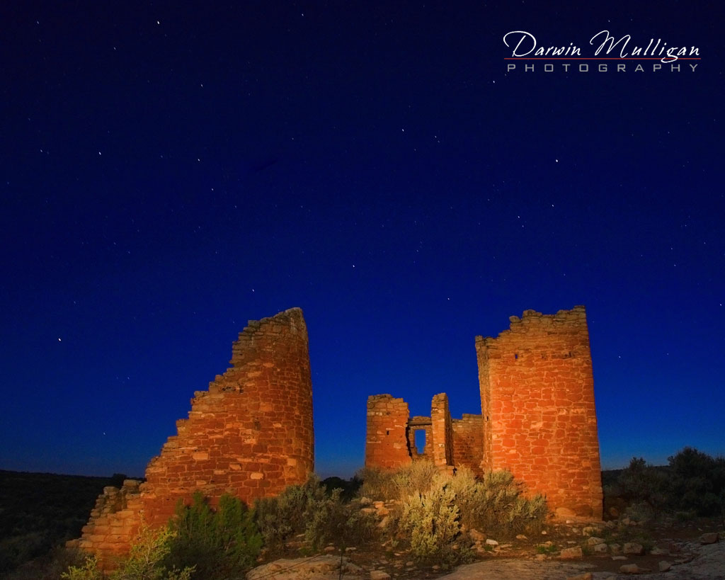 LStar points at Hovenweep National Monument, Colorado,Utah