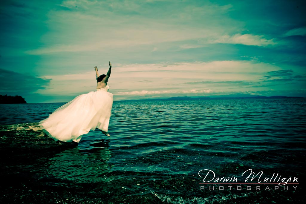 52 weeks project, trash the dress,destination wedding