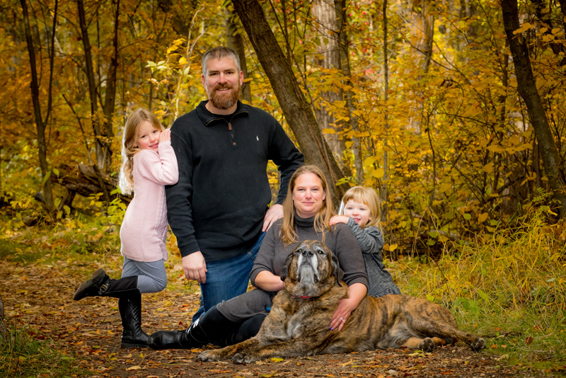 Edmonton family portrait photographer, fall