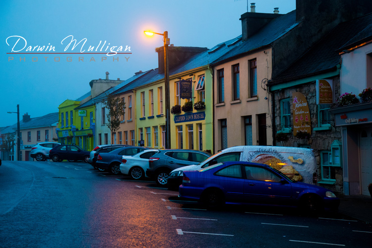 Ireland-Clifden-predawn-light-with-fog-and-rain