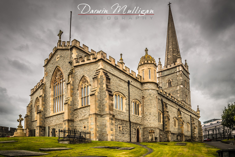 Ireland-Free-Derry-Old-Church-on-the-hill