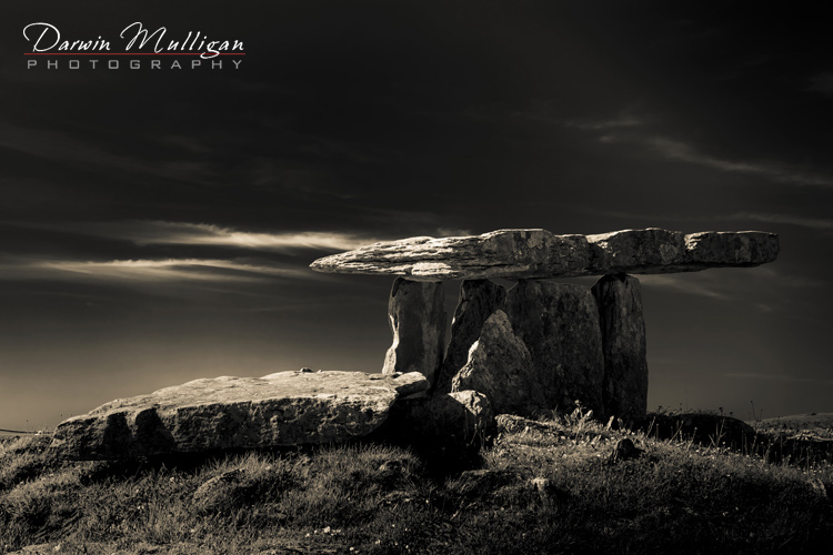Ireland-Pouulnabrone-Megalithic-Tomb-Infrared