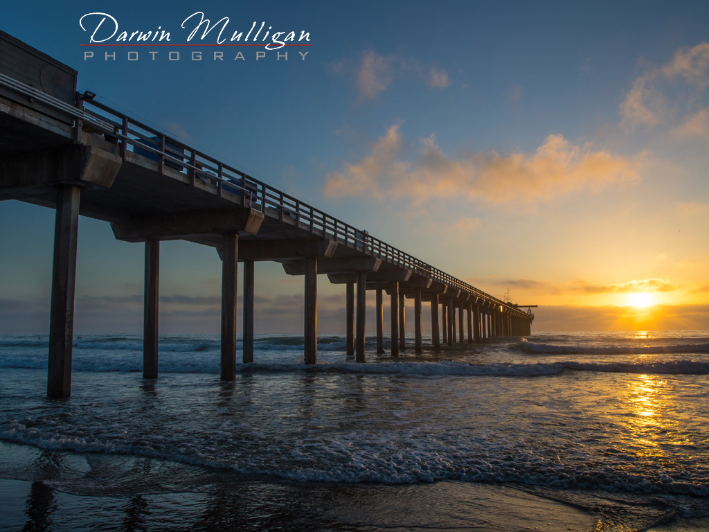 Scripps-Pier-Sunset-LaJolla-California