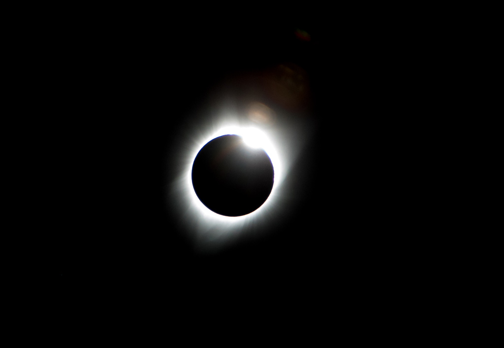 Total solar eclipse Alliance Nebraska