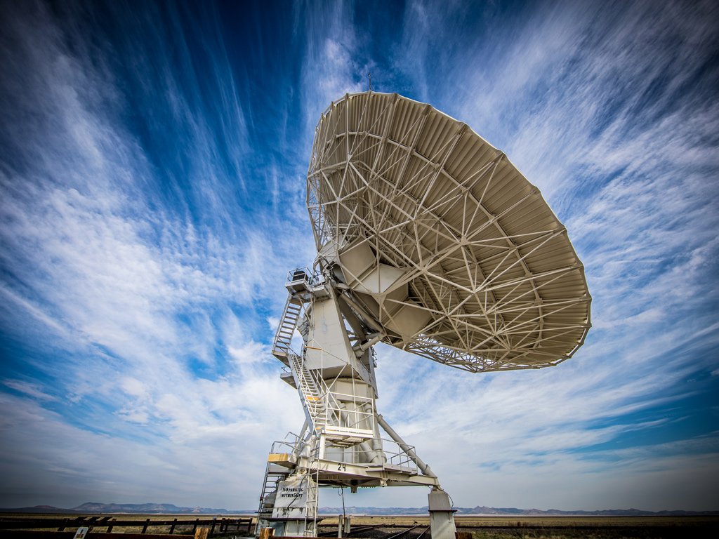 VLA - Very Large Array Radio Telescope New Mexico