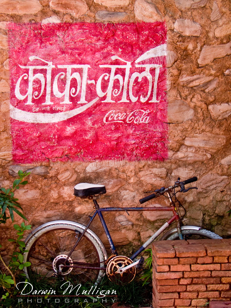 Disneyworld-Florida Coca Cola and bicycle