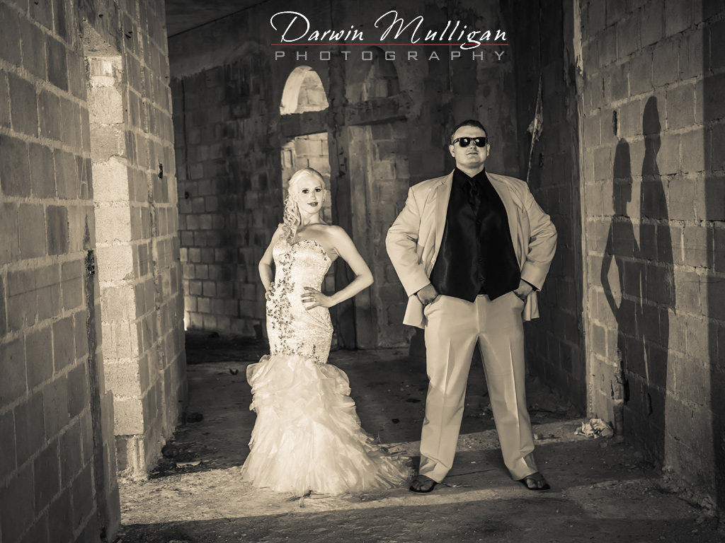 Bride-and-Groom-wedding-photography-in-abandoned-house-Dominican-Republic Punta Cana destination wedding
