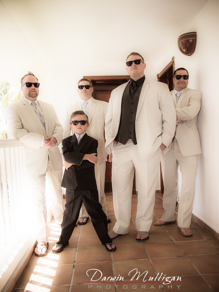 Groom-Groomsmen-Ring-Bearer-Dominican-Republic-Punta-Cana