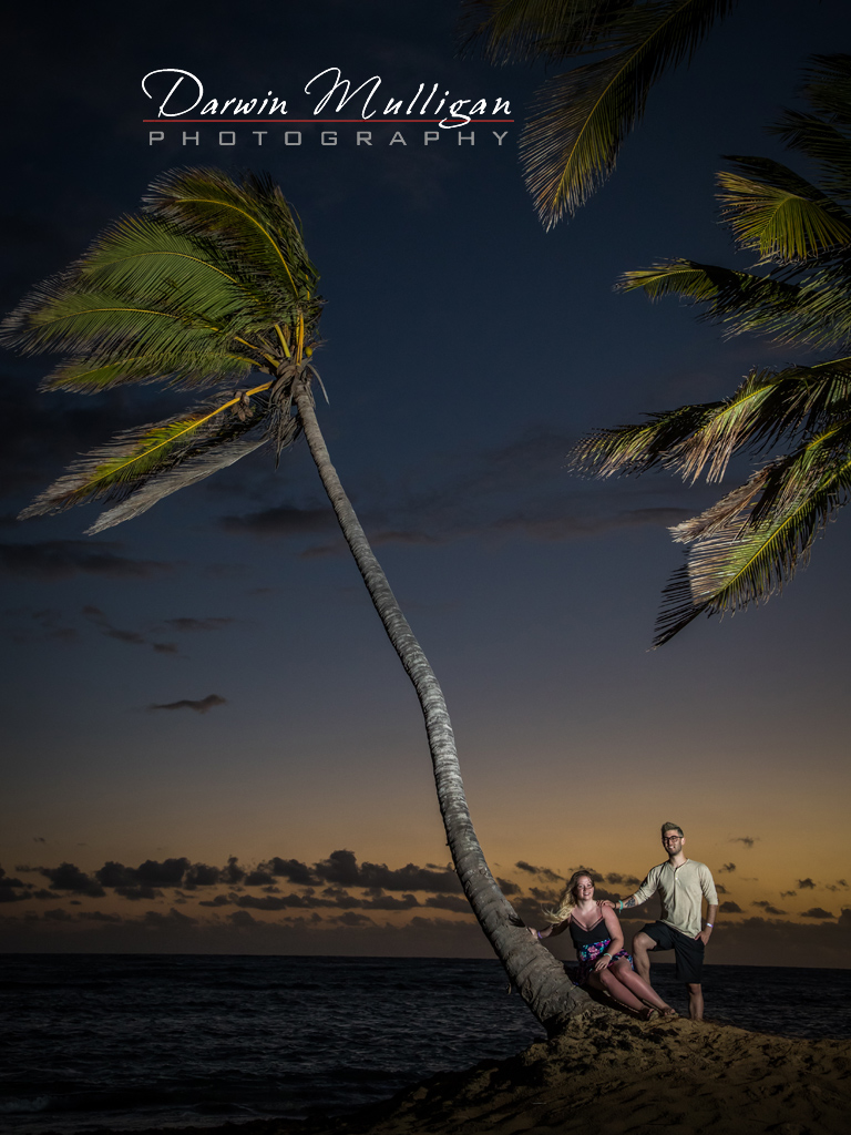 couples portrait on location Punta Cana Dominican Republic
