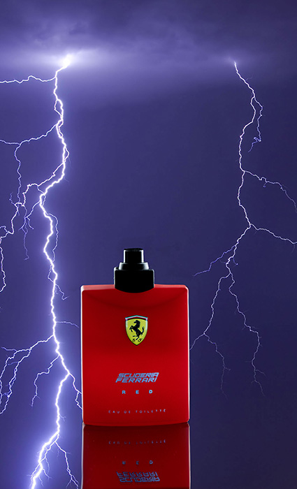 RED Ferarri Mens Cologne product phot